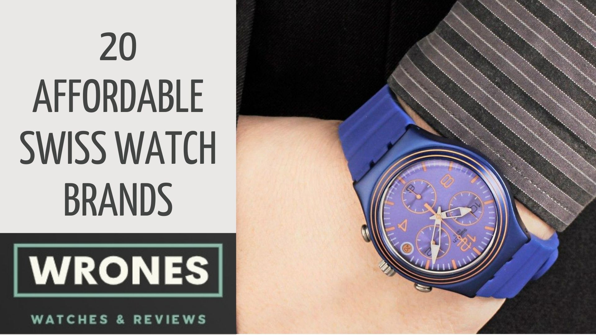 20 Affordable Swiss Watch Brands wrones