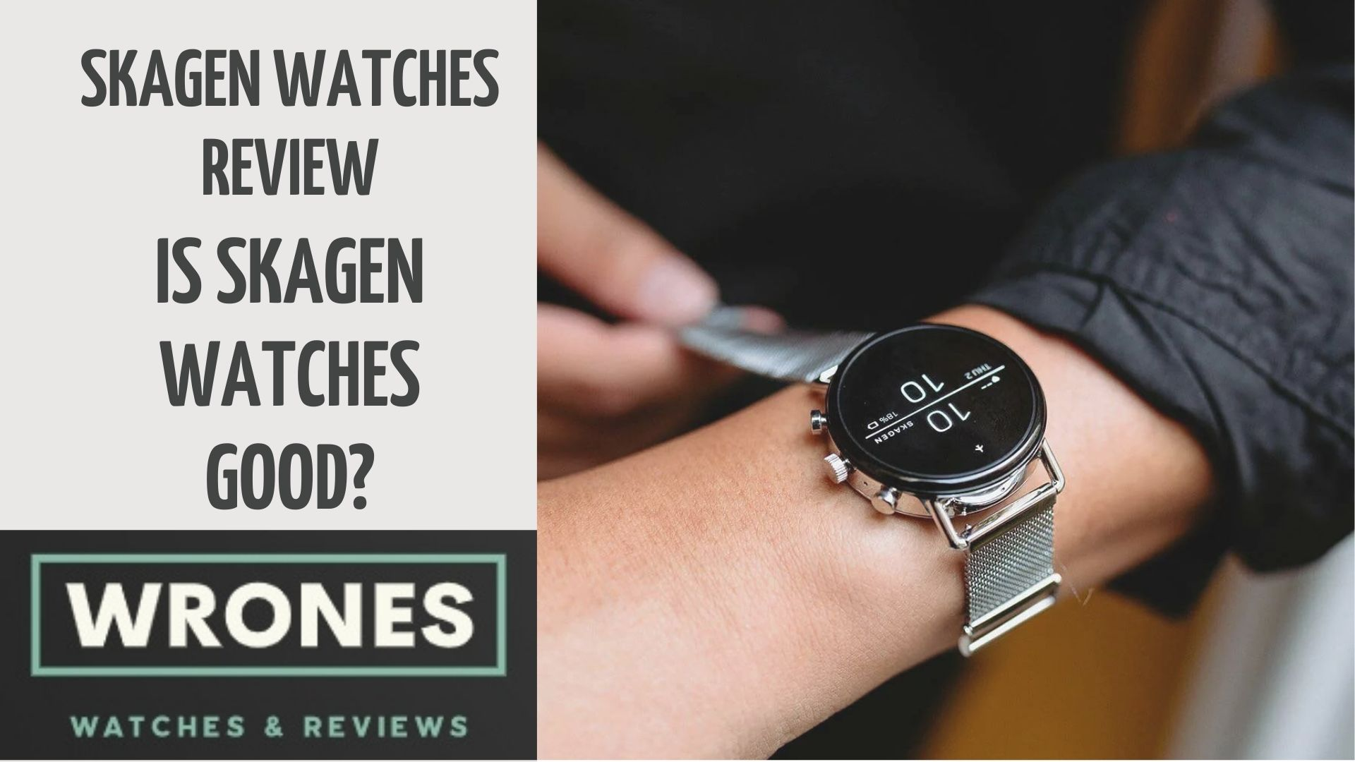 Skagen Watches wrones