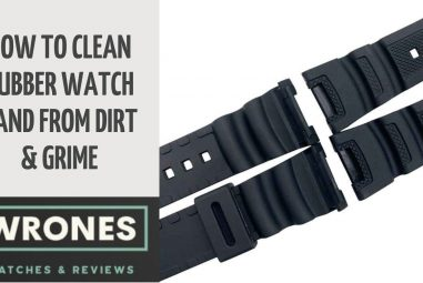 How To Clean Rubber Watch Band From Dirt & Grime (4 Methods)