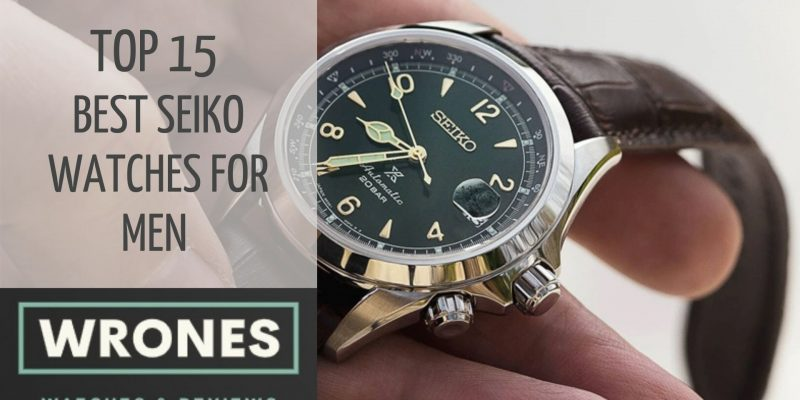 Top 15 Best Seiko Watches For Men in 2021